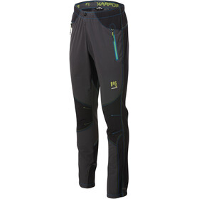 Karpos Rock Pantalones Hombre, dark grey/black/apple green/in